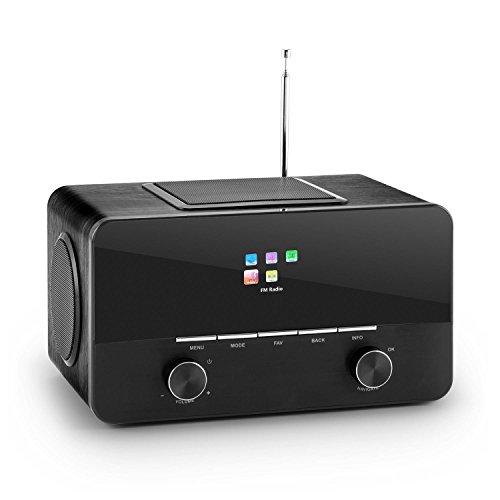 auna connect 150 2 1 internetradio design wlan radio k chenradio mit radiowecker test. Black Bedroom Furniture Sets. Home Design Ideas