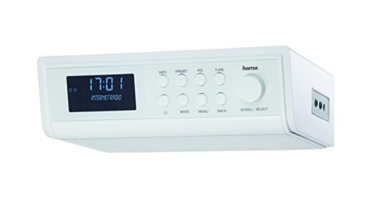 hama internetradio ir320 für küche und werkstatt test